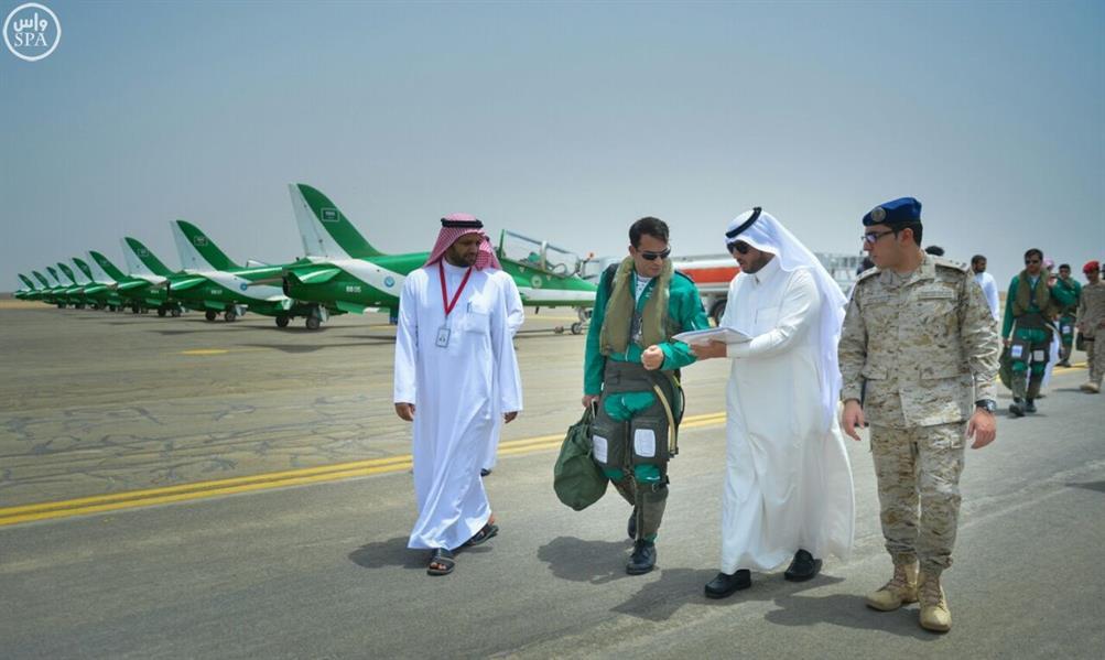 بالصور.. الصقور السعودية تشارك في مهرجان صيف الباحة