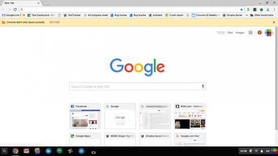Google Chrome Material Design 1