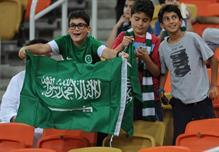 جماهير الاخضر السعودي