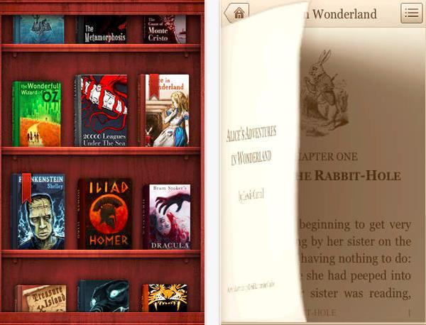 بالصور: أفضل سبع تطبيقات لقراءة الكتب على أجهزة الآيفون