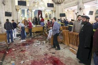 """مصر.. ضبط متهم بالتورط في """"الأحد الدامي"""""""