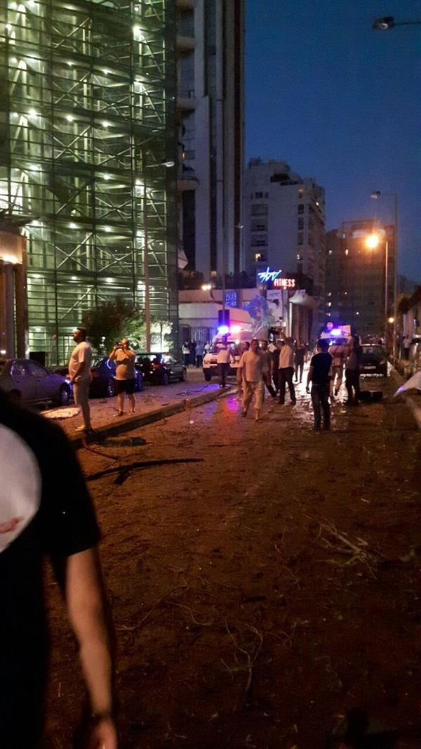 انفجار يهز العاصمة اللبنانية بيروت ويحدث أضرارًا مادية