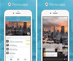 التطبيق الجديد periscope