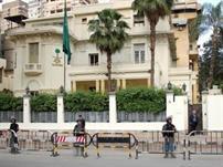 إحراق سيارتين دبلوماسيتين تابعتين للقنصلية السعودية بمصر