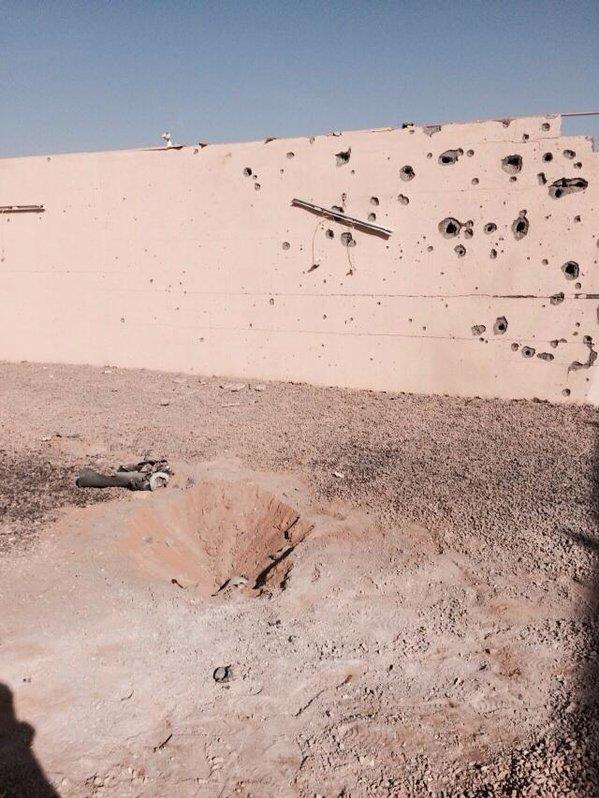 سقوط مقذوفات على نجران