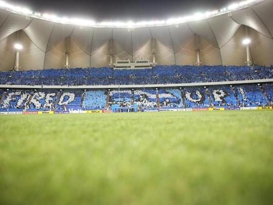 جمهور الهلال في أحد مباريات دوري ابطال اسيا