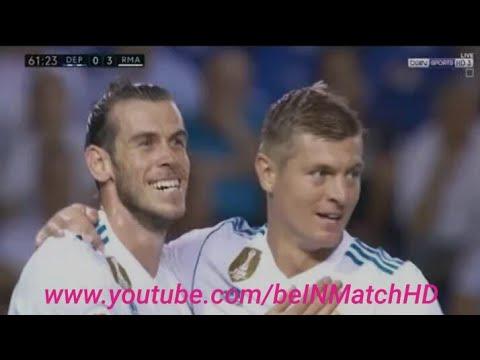 اهداف مباراة ديبورتيفو لاكورونا ( 0 - 3 ) ريال مدريد الدوري الاسباني