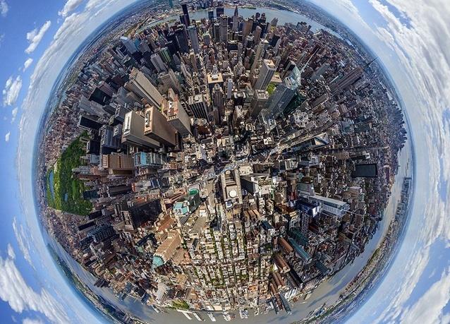 مانهاتن في مدينة نيويورك، كما لم نشاهدها من قبل، حيث تم إلتقاط هذه الصور المذهلة بإستخدام طائرات الهليكوبتر والمناطيد