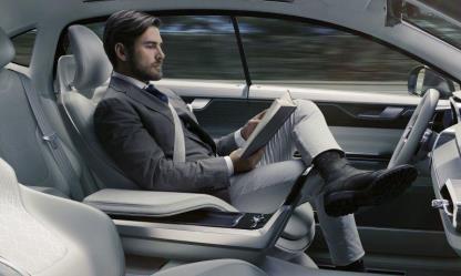 volvo autonomous cars