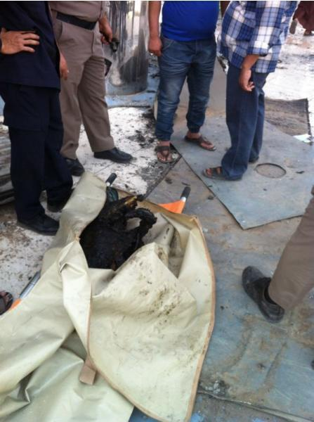 """أيام الحريق الدفاع المدني: انتشال متفحمة حطام """"الهرم بلازا"""""""