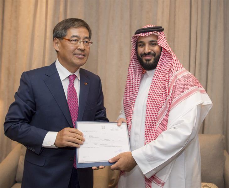 بالصورة.. محمد بن سلمان يمنح شركةM3  تصريحاً بالاستثمار في المملكة