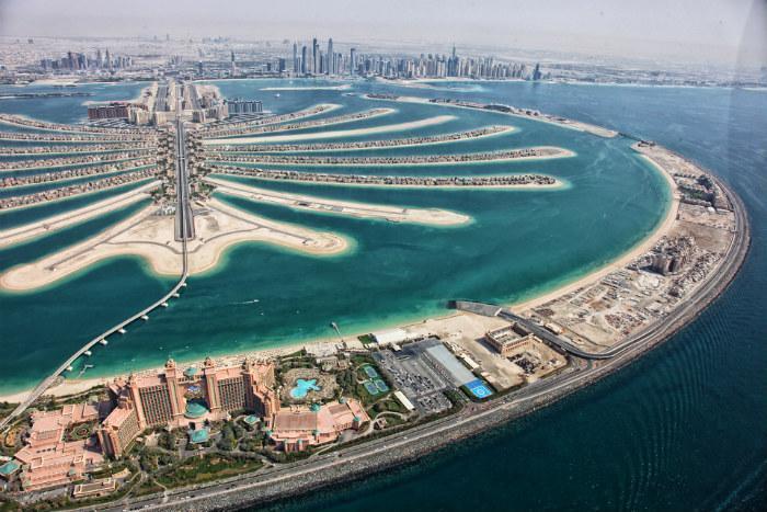 """جزيرة """"نخلة الجميرا""""، دبي"""