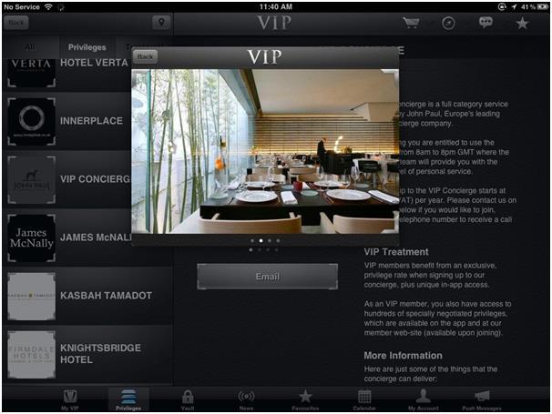 """يُعرف تطبيق """"VIP Black"""" بـ""""تطبيق المليونير"""" ، حيث يٌعامل مستخدميه معاملة كبار الشخصيات من قبل الشركات، ويجب أن يتأكد الشخص أن"""