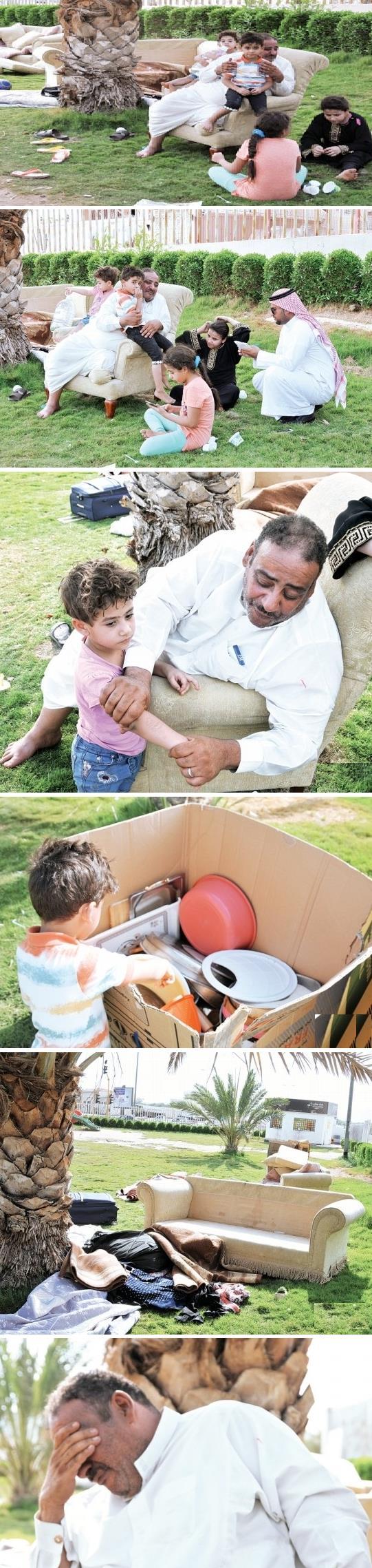 بالصور.. أسرة سعودية أفراد تفترش dd21dd11-9f24-48f5-8