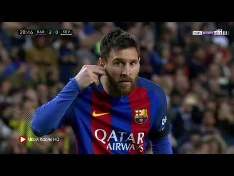 برشلونة ( 3 - 0 ) اشبيلية الدوري الاسباني
