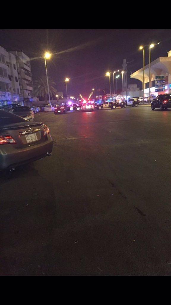 انتحاري يفجر نفسه قبالة القنصلية الأمريكية في جدة
