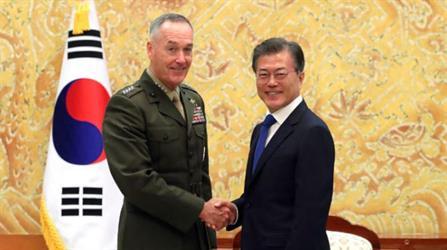 أميركا لا تنفي الخيار العسكري مع بيونغ يانغ وسيول تدعو للحل السلمي
