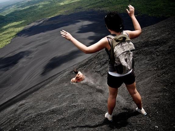"""بركان """"سيرو نيجرو"""" (Cerro Negro)"""
