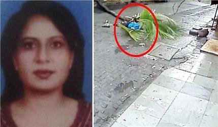 بالفيديو.. نخلة تسقط على مذيعة هندية أثناء سيرها في الشارع وتنهي حياتها