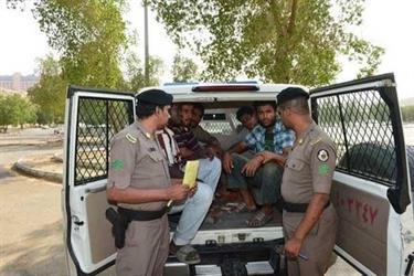 شرطة منطقة تبوك تضبط 9435 مخالفاً لنظام الإقامة والعمل