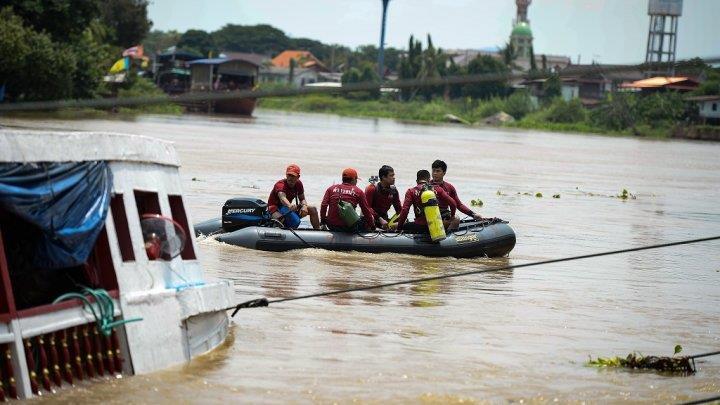تايلاند: 15 قتيلا و11 مفقودا في غرق سفينة تقل حجاجا مسلمين