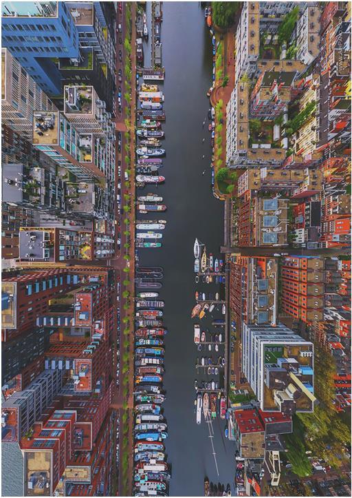 "14- "" Westerdok Disctrict ""أمستردام، هولندا"