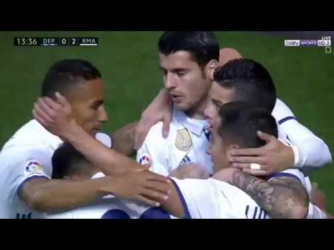 ريال مدريد ( 6 - 2 ) ديبورتيفو لاكورونيا الدوري الاسباني
