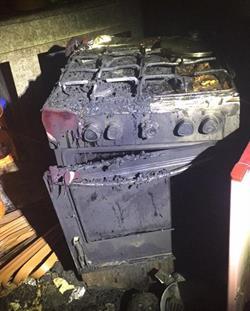 حريق يلتهم مطبخ شقة بالأحساء