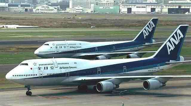 9. All Nippon Airways
