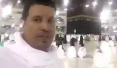 شخص يؤدي عمرة عن الرئيس ترمب ويدعوه للإسلام