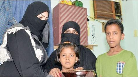 الأم التي قذفت بأطفالها الثلاثة