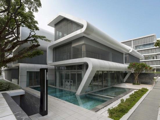 """منزل """"أوكسلي"""" أو """"Oxley"""" في سنغافورة"""