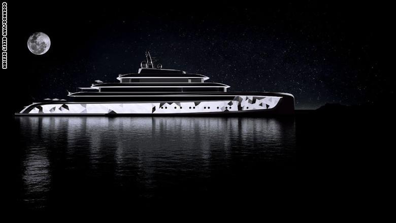"""ويشرح بيتر فان غيست من شركة فان غيست للتصميم أن اليخت ليس مجرد مركب مائي، إذ أنه """"تجربة"""" بحد ذاته، مضيفاً أن اليخت """"يستطيع أن"""