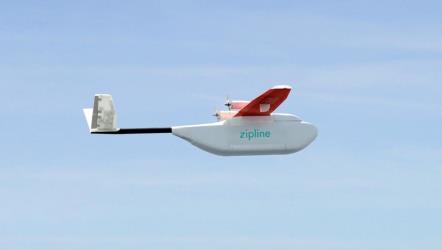 طائرات بدون طيار لإيصال الإمدادات الطبية لرواندا