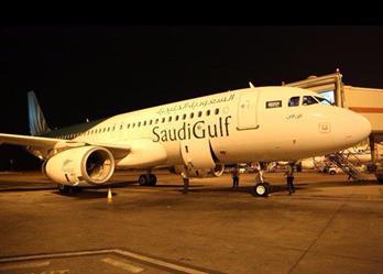 بالفيديو والصور.. وصول أول طائرة لطيران السعودية الخليجية