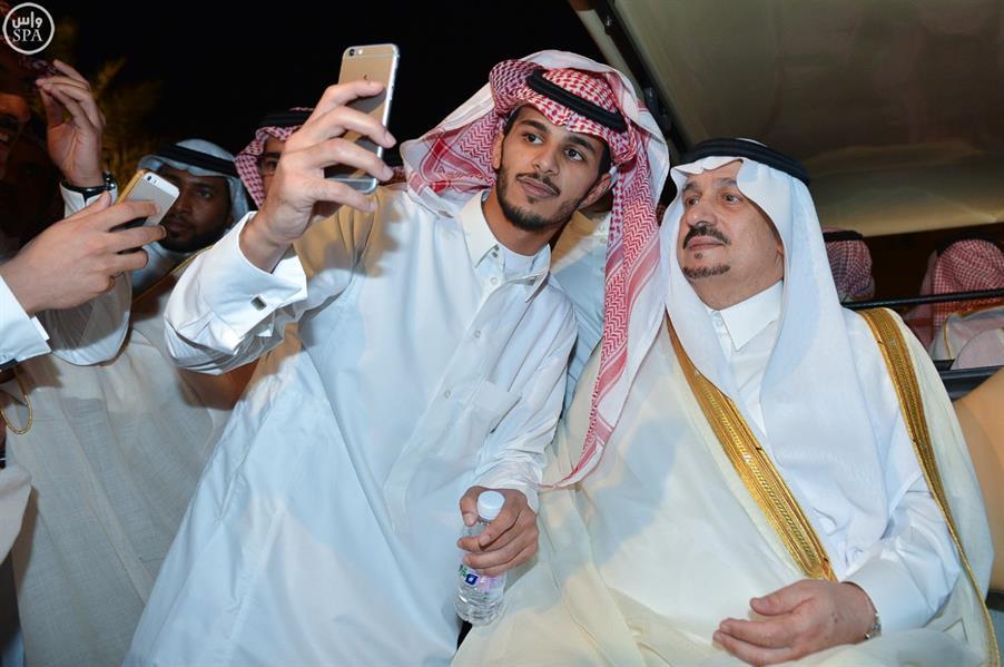 سمو الأمير فيصل بن بندر يدشن فعاليات العيد بالرياض