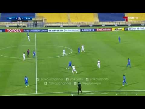 الفتح السعودي ( 1 - 1 ) استقلال خوزستان الايراني دوري ابطال اسيا