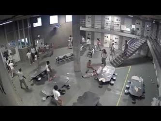 شجار بين السجناء في أكبر سجن أمريكي