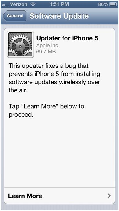 يمكن للمستخدم أيضاً تحديث نظام التشغيل الخاص بهاتفه باستمرار.