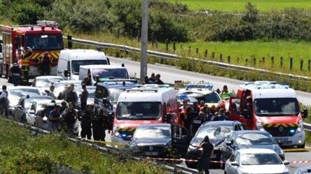 الشرطة الفرنسية تحتجز مشتبها به في حادث الدهس