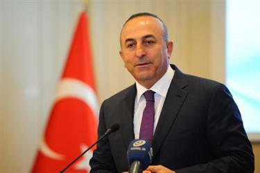 وزير الخارجية التركي يُغادر جدة