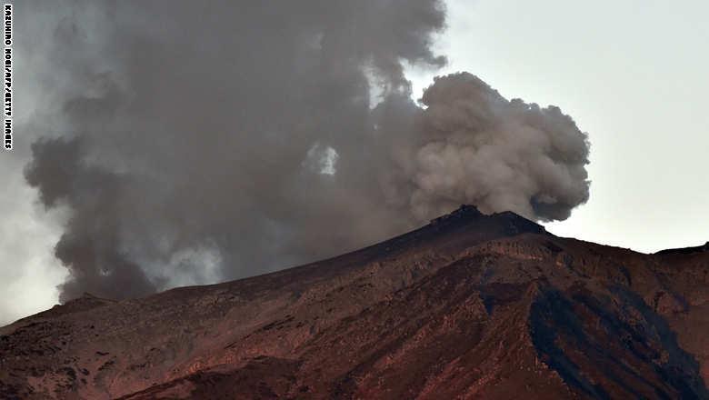 بركان جبل أونتاكي