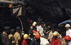 مقتل 20 شخصاً بحادث قطار في الهند