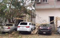 بالفيديو .. آثار سقوط قذائف هاون على عدد من المنازل والمباني بنجران