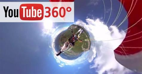 youtube 360 video live stream