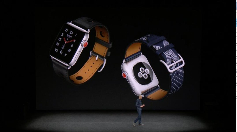 """""""آبل"""" تعلن عن ساعة جديدة ترسل رسائل وتتلقى اتصالات دون الحاجة لـ""""آيفون"""""""