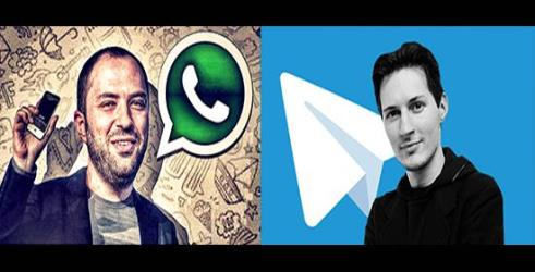 whatsapp vs telegram founder