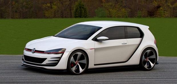 """فولكس فاجن جولف Design Vision GT"""" هاتشباك الجديدة"""