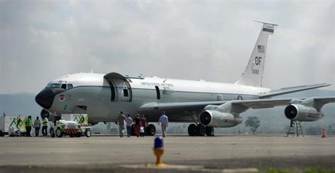 طائرة عسكرية أمريكية تهبط اضطراريا في إندونيسيا
