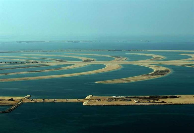 نخلة جبل علي، دبي